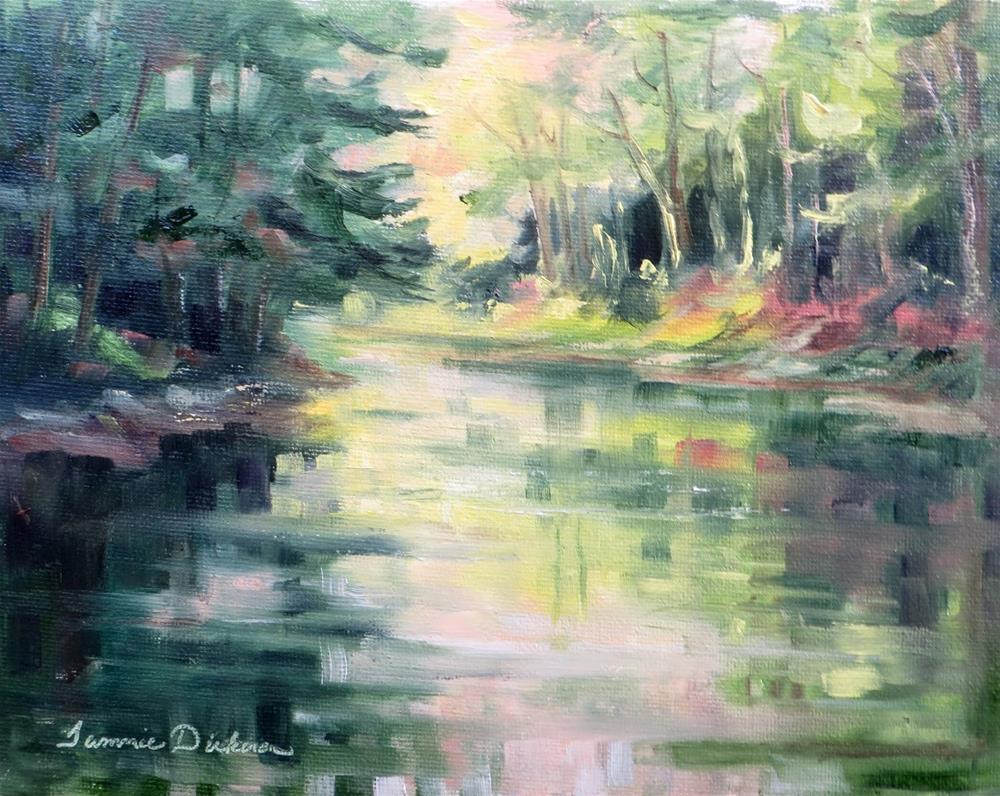 """Portage Reflections"" original fine art by Tammie Dickerson"
