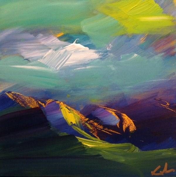 """""""Unseen Before"""" original fine art by David Kuhn"""