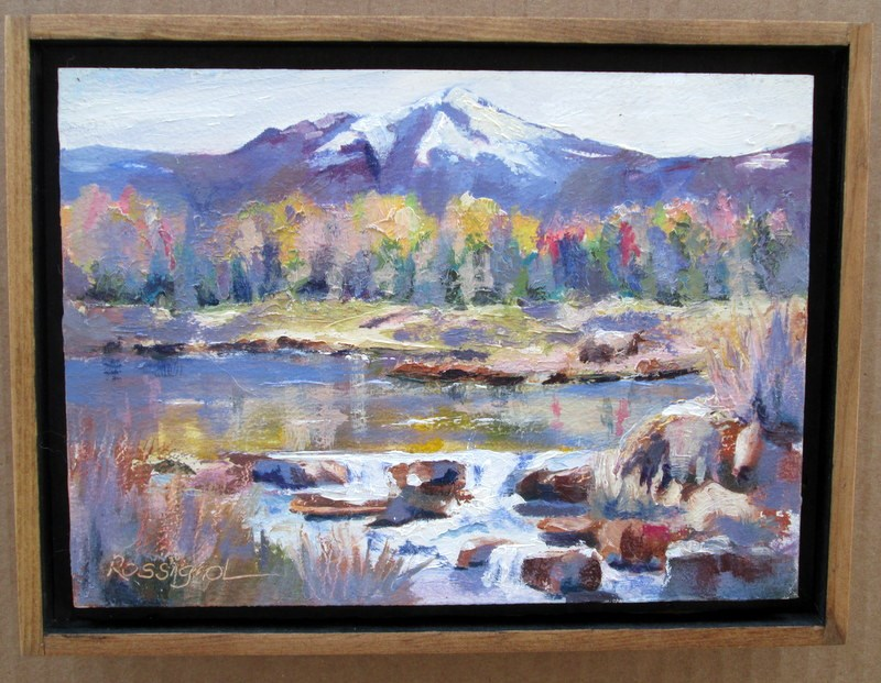 """Woodriver Headwaters"" original fine art by Norm Rossignol"