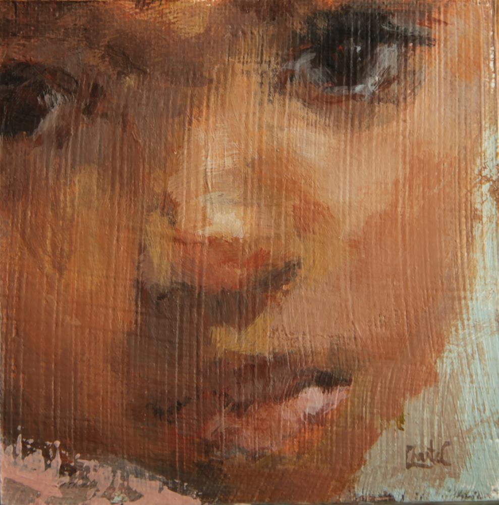 """Blessing"" original fine art by Chantel Barber"