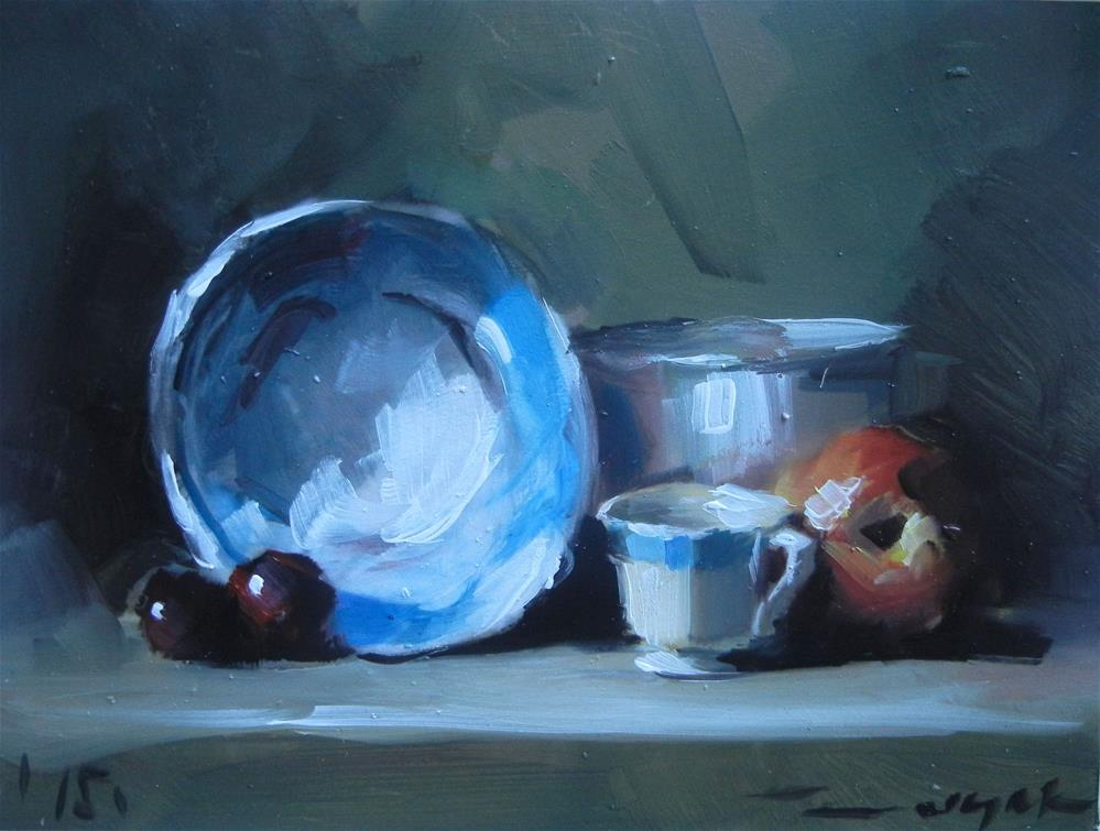 """Plate"" original fine art by Dragan Culjak"