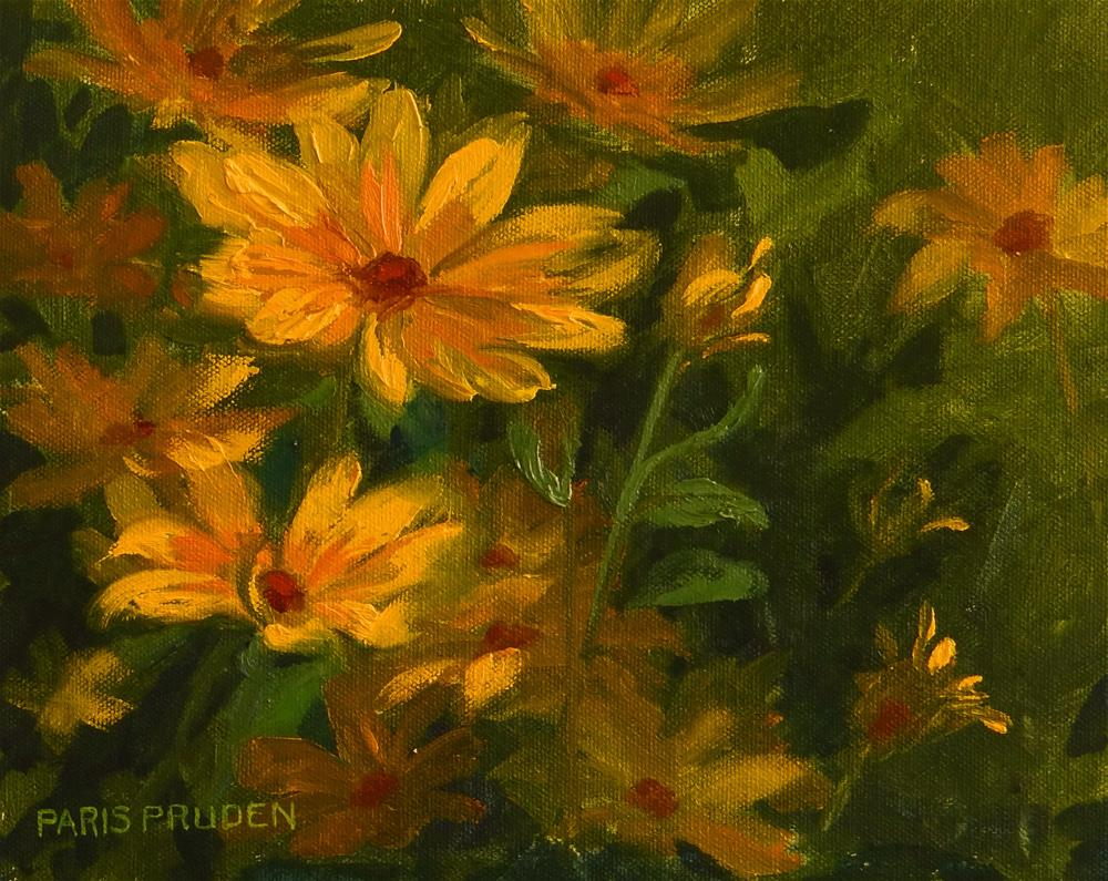 """Blackeyed Susans"" original fine art by Nancy Paris Pruden"