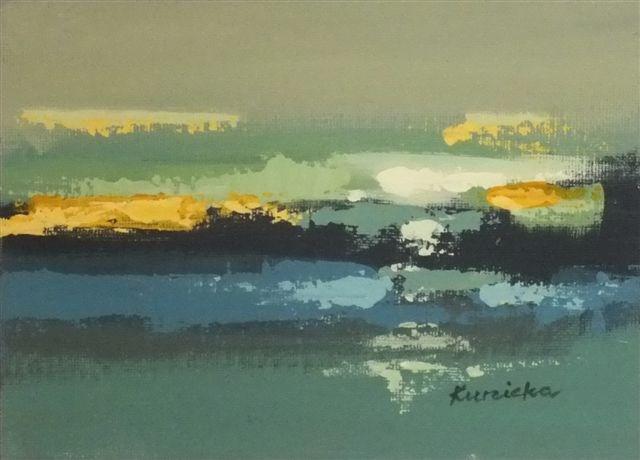 """Landscape 28"" original fine art by Ewa Kunicka"