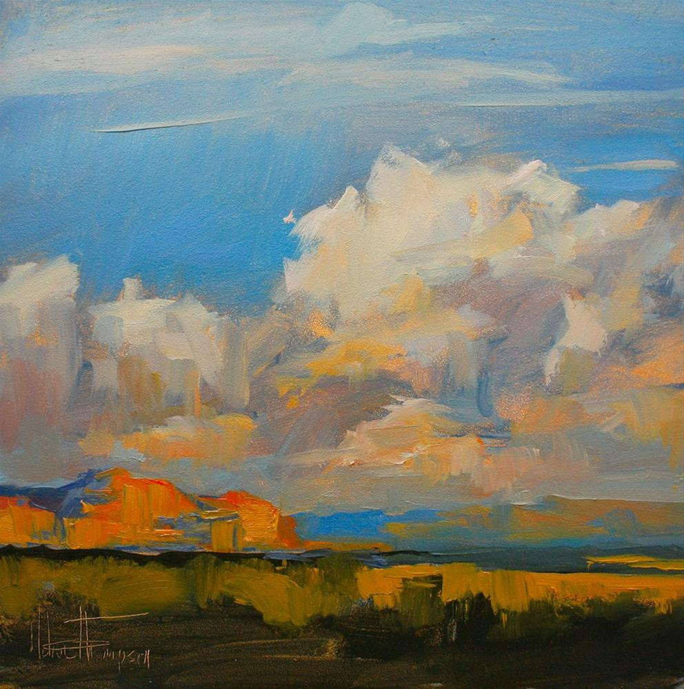 """Under a Southwest Sky III"" original fine art by Melanie Thompson"