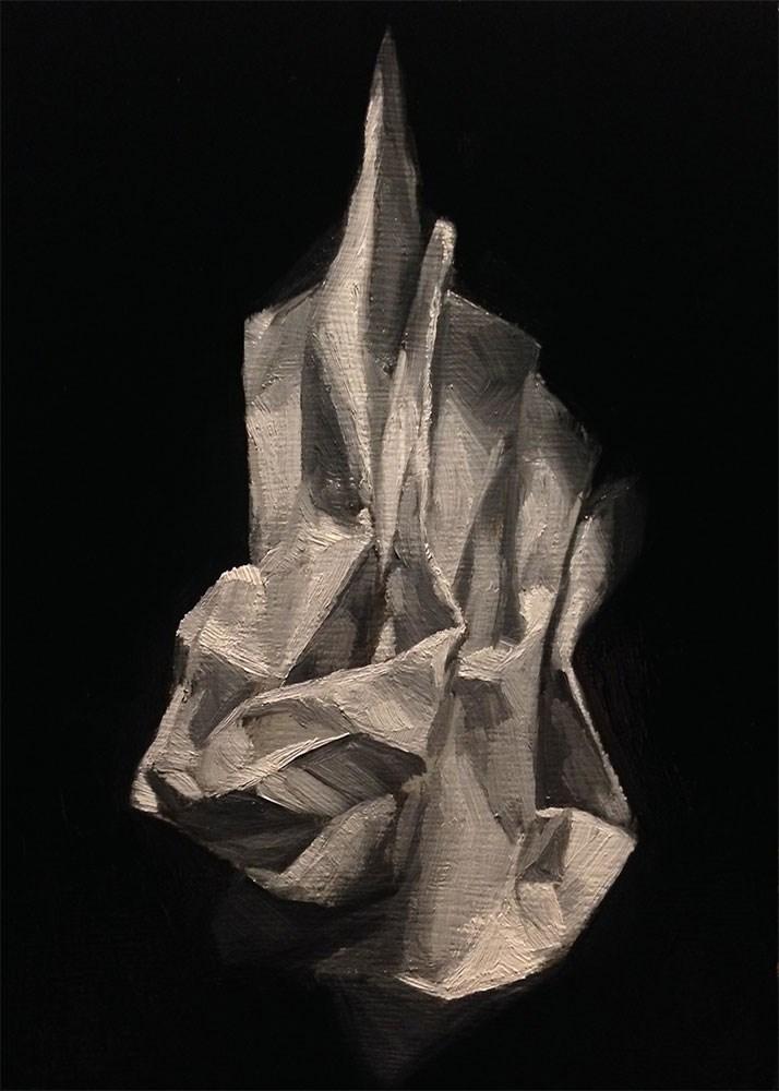 """Elevating the Mundane 6"" original fine art by Chris Beaven"
