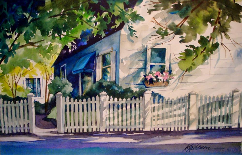 """More Summer Shadows"" original fine art by Kathy Los-Rathburn"