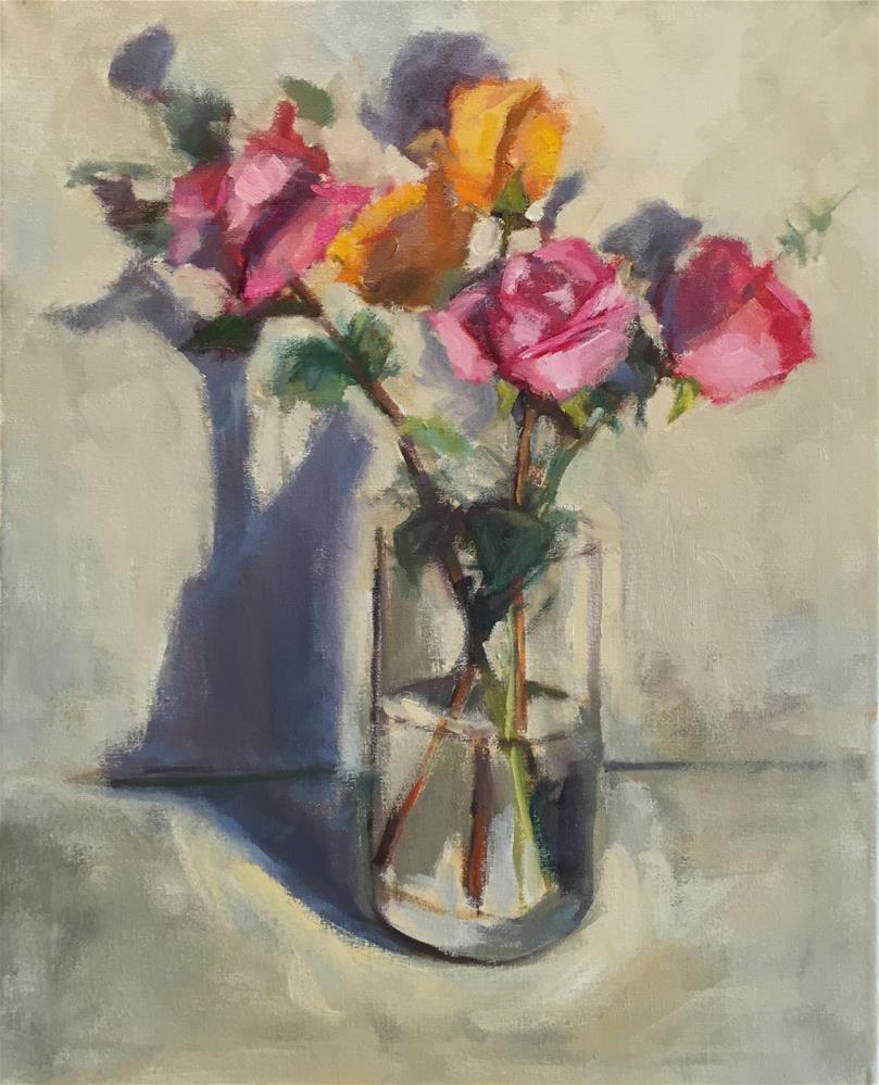 """Valentine Special"" original fine art by Dana Cooper"