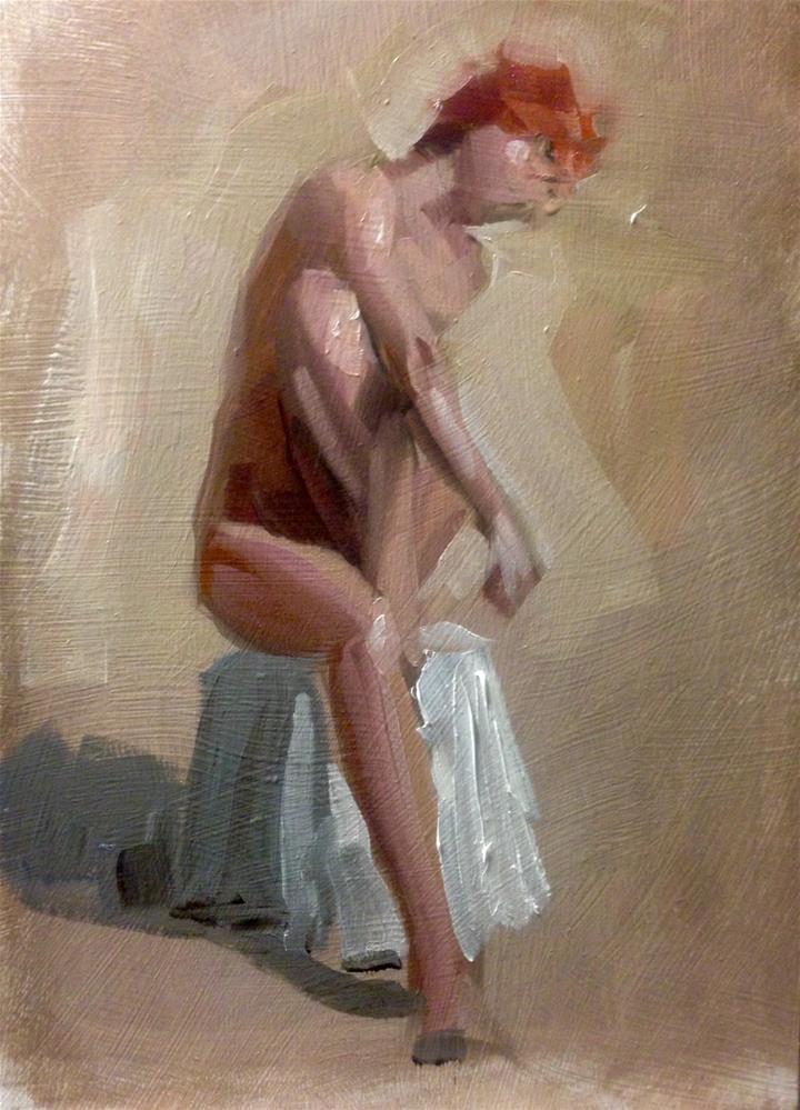 """Margaret"" original fine art by Thomas Ruckstuhl"