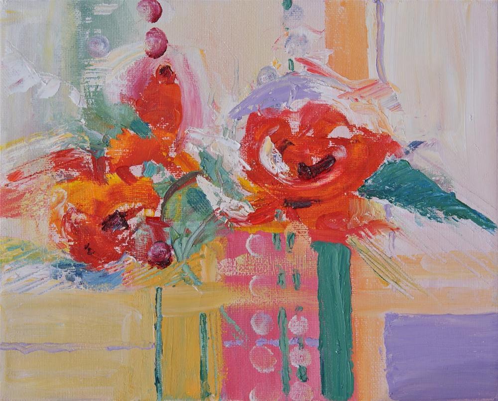 """""""HAPPY BIRTHDAY, BABY!"""" original fine art by Reveille Kennedy"""