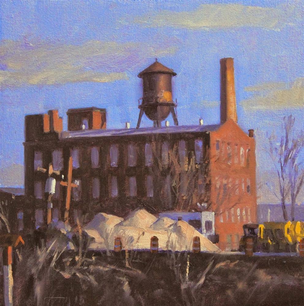"""Sands of New Jersey"" original fine art by Ski Holm"
