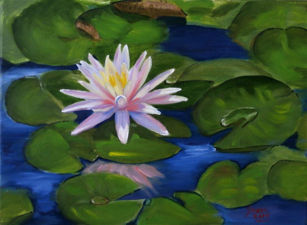 """""""lily"""" original fine art by Joann Polos"""