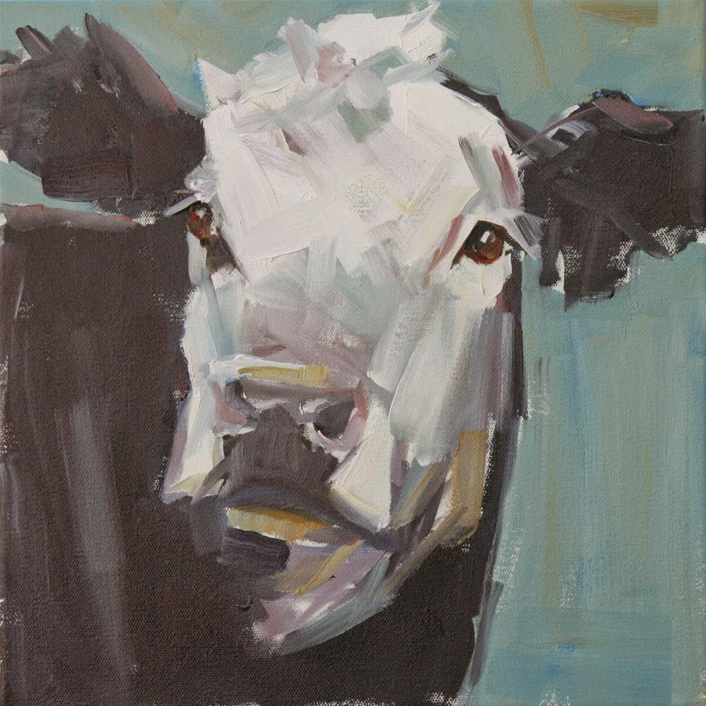 """new kid in town"" original fine art by Carol Carmichael"