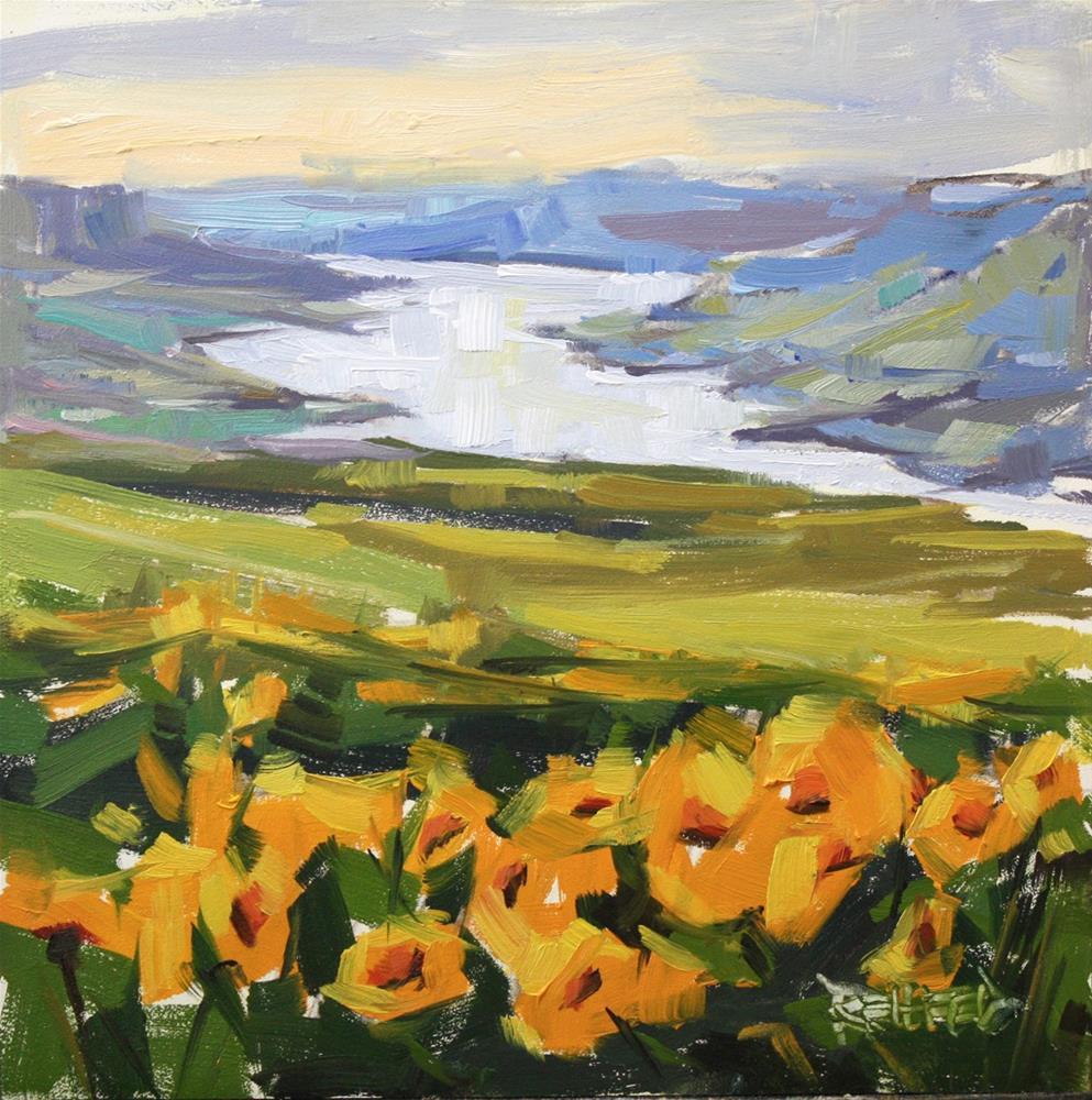 """Wildflowers"" original fine art by Cathleen Rehfeld"