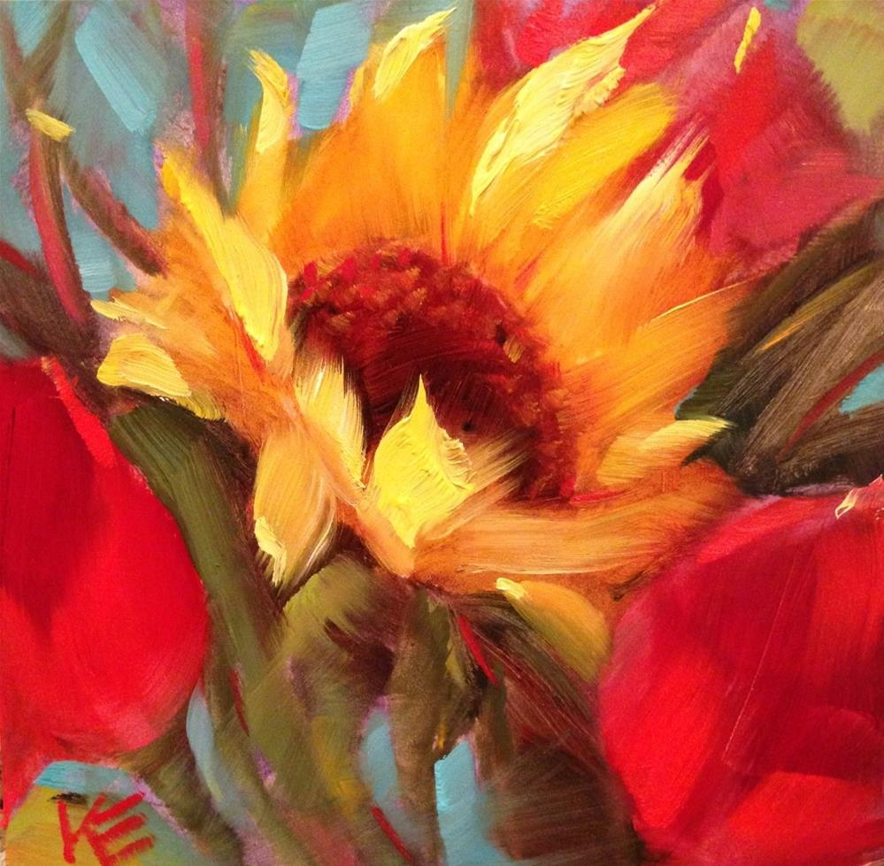 """Sunny Delight"" original fine art by Krista Eaton"
