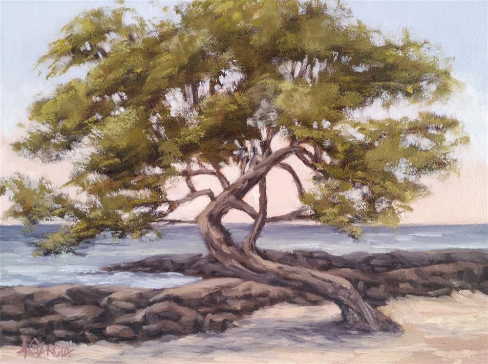 """Dancing tree"" original fine art by Jeannie Garcia"