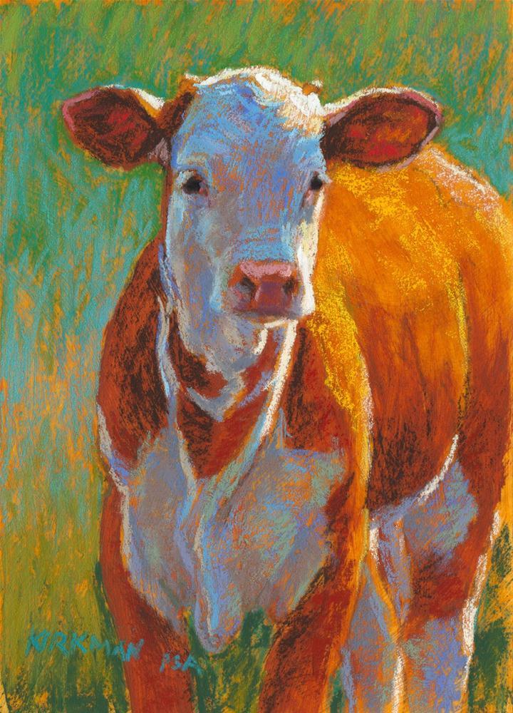 """Juni"" original fine art by Rita Kirkman"