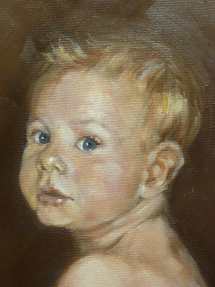 """Oh, Baby"" original fine art by Helene Adamson"