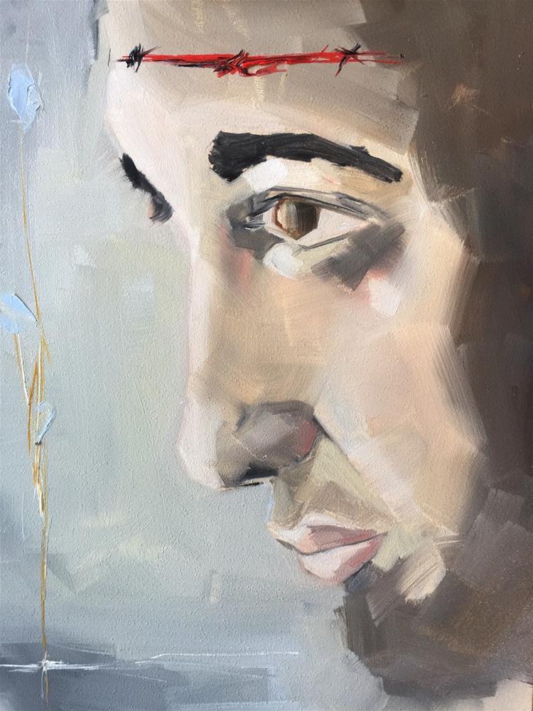 """373 Gethsemane"" original fine art by Jenny Doh"
