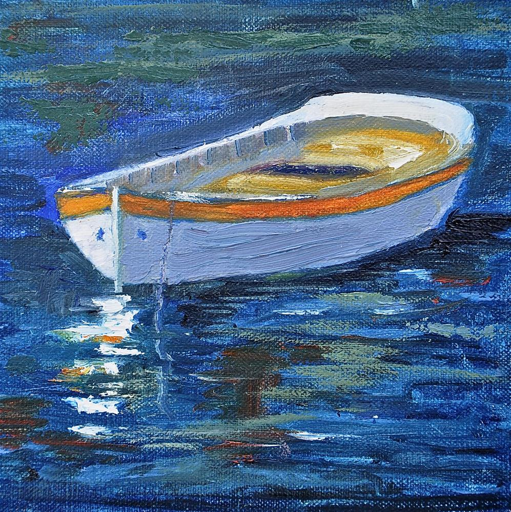"""A Fine Vessel"" original fine art by Jacquelyn Blue"