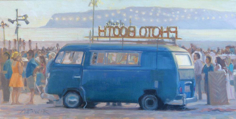 """Memory Line - in Coronado"" original fine art by Anette Power"