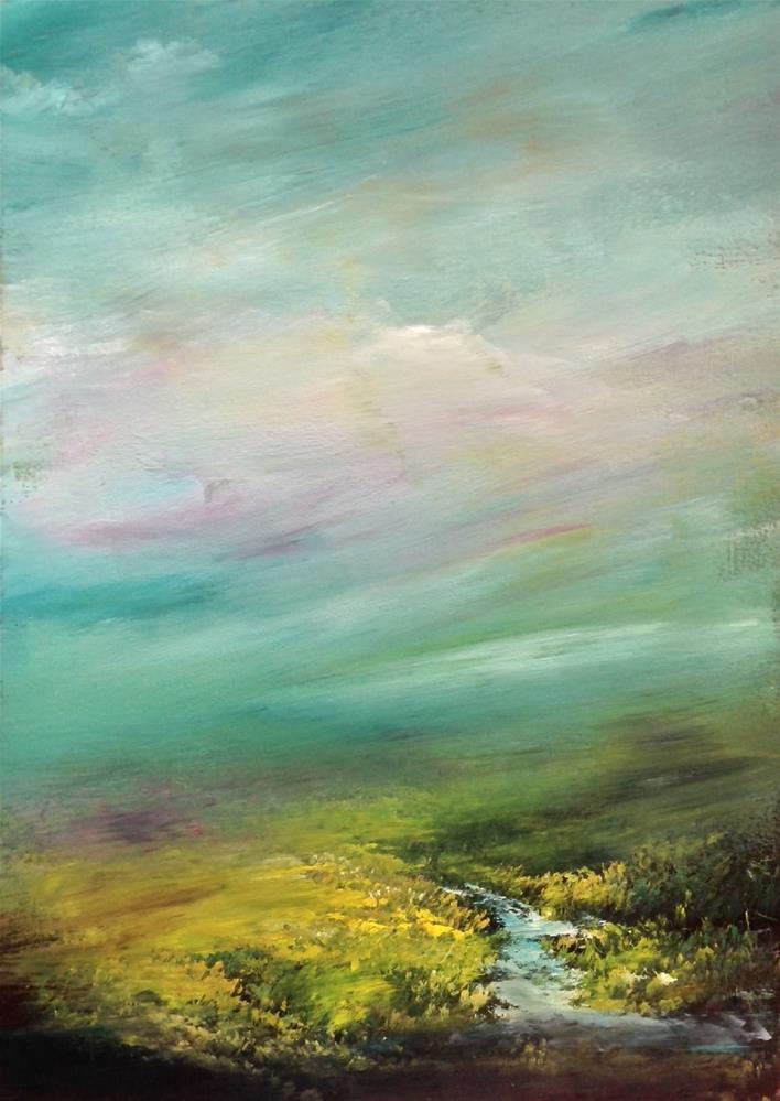 """Somewhere in Time"" original fine art by David Kuhn"