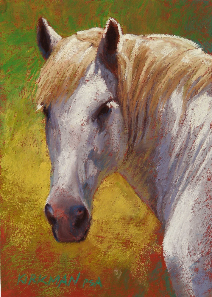 """Blondie"" original fine art by Rita Kirkman"