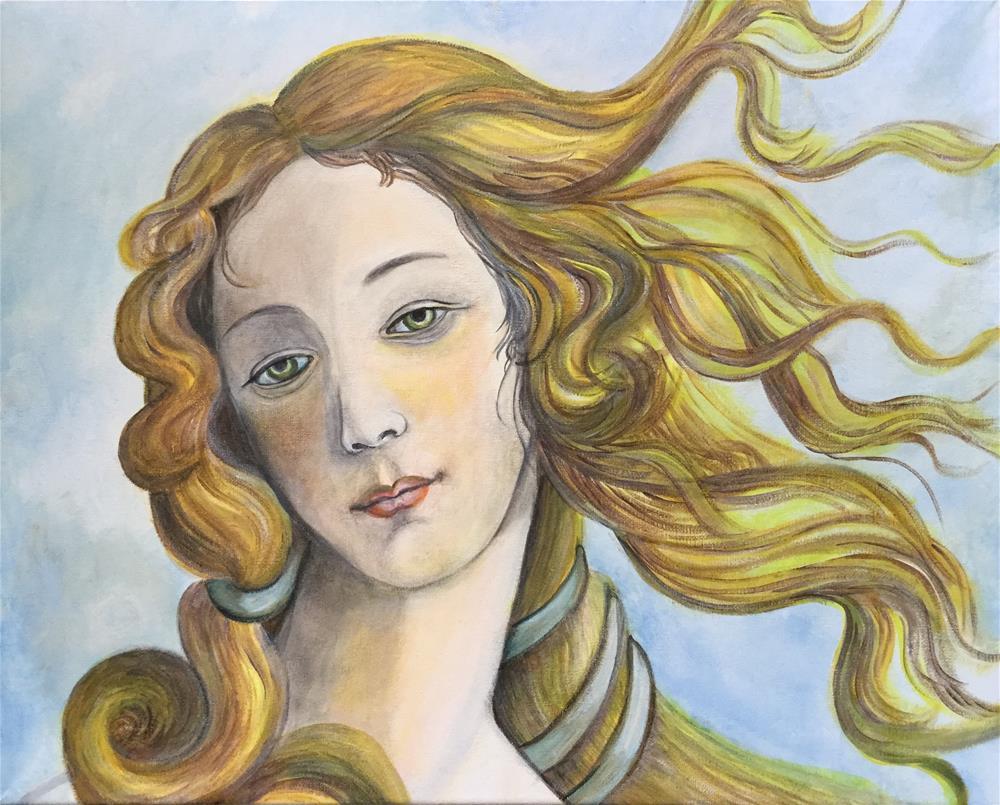 """""""7034 - Venus"""" original fine art by Sea Dean"""