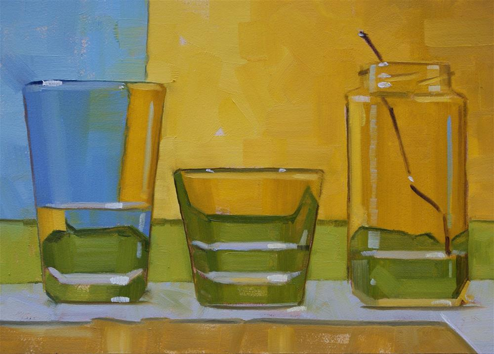 """Three Cups of Water"" original fine art by Jiyoung Kim"