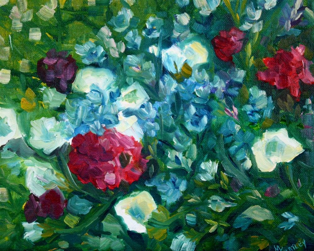 """Summer colors"" original fine art by Maggie Flatley"