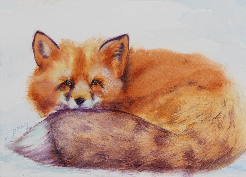 """""""Foxtails"""" original fine art by Colleen Drury"""