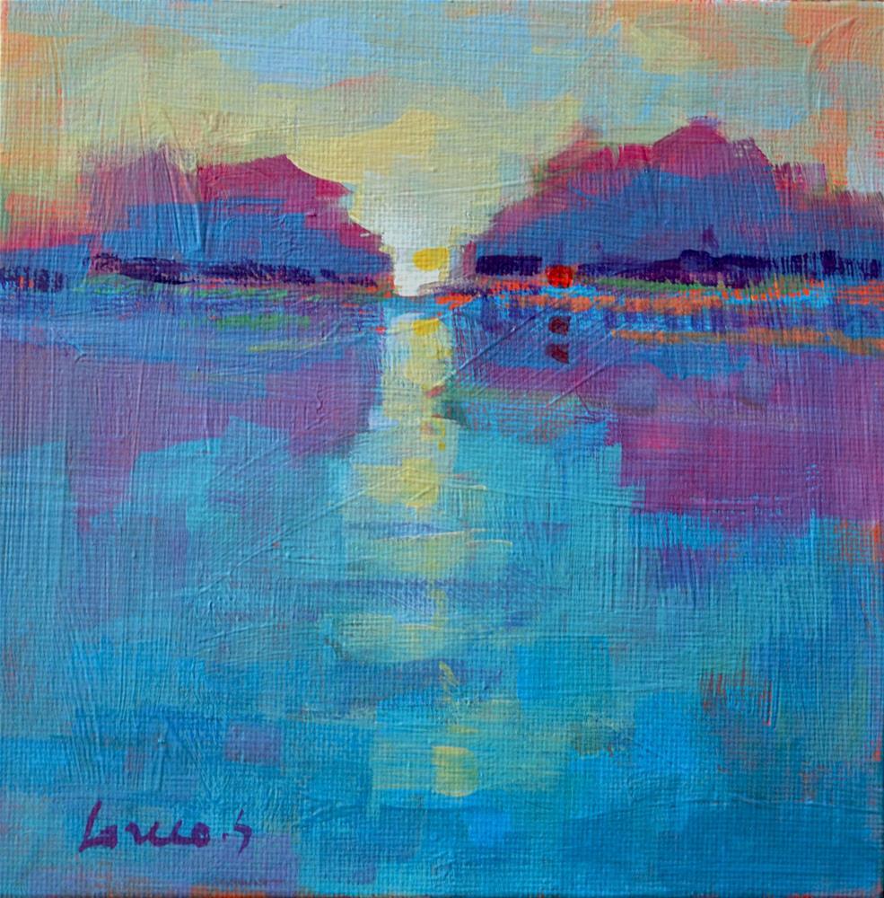 """""""Dawn"""" original fine art by salvatore greco"""