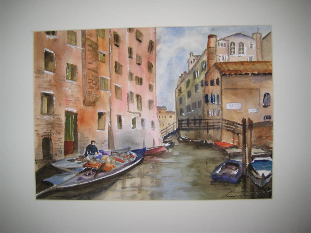 """Venice"" original fine art by Susan Brens"