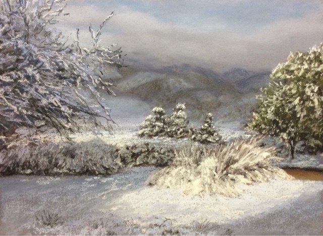 """FIRST STORM"" original fine art by Marti Walker"
