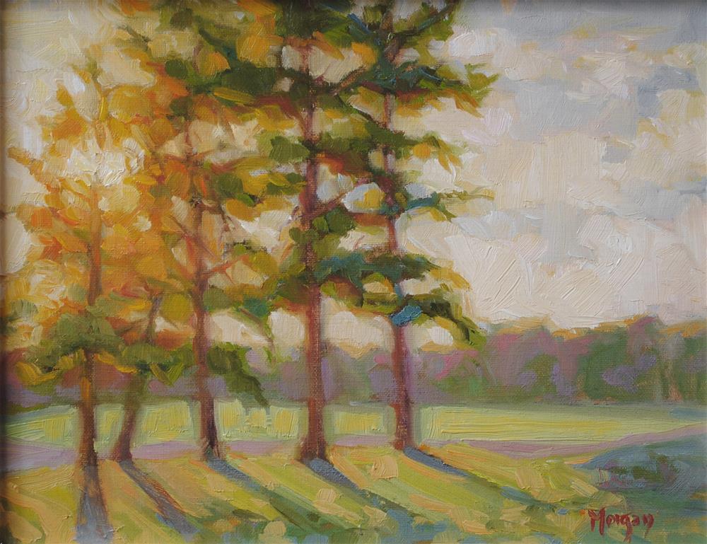 """Sunset Glory"" original fine art by Cecile W. Morgan"