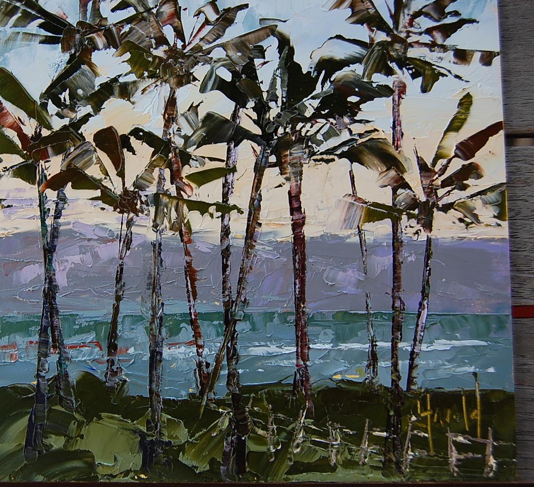 """Palms Up"" original fine art by Deborah Harold"