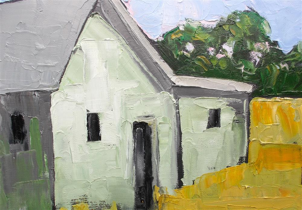 """Country Farm House"" original fine art by lynne french"