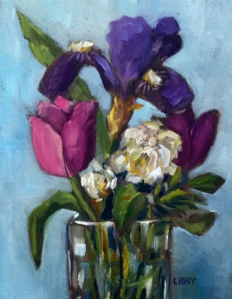 """Spring"" original fine art by Libby Anderson"