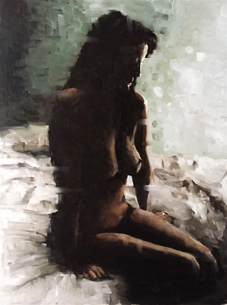 """Nude 1"" original fine art by James Coates"