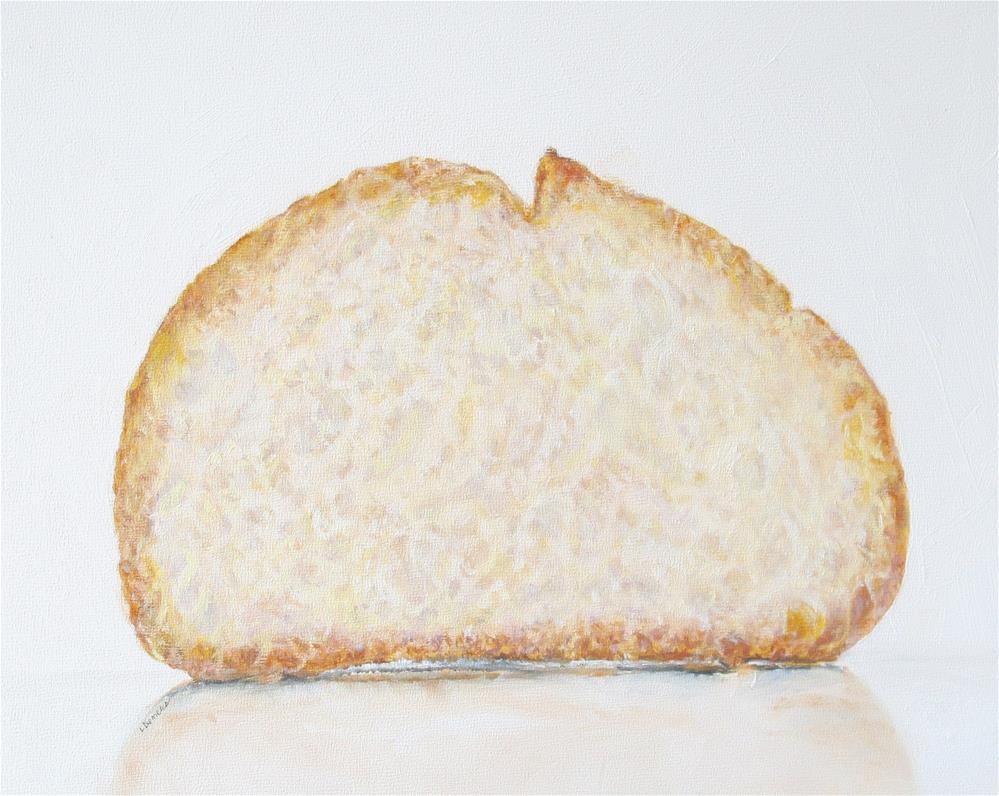 """Italian Bread Study"" original fine art by Linda Demers"