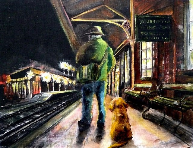 """Journey's End"" original fine art by Karen Robinson"