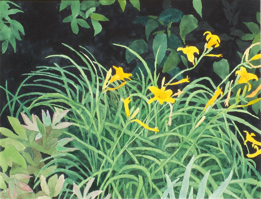"""Day Lilies"" original fine art by Greg Arens"