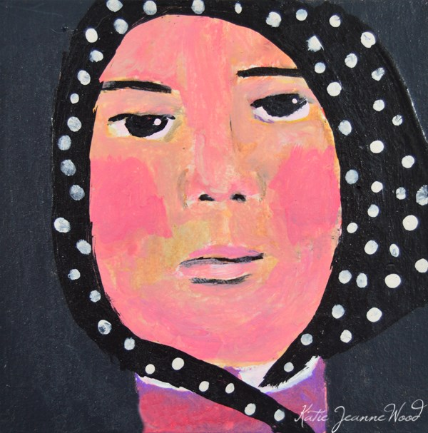 """Martha"" original fine art by Katie Jeanne Wood"