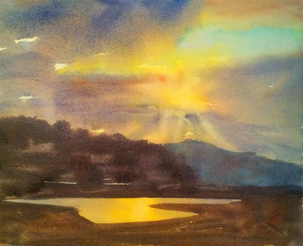 """Morning Has Broken"" original fine art by Katharine Engh"