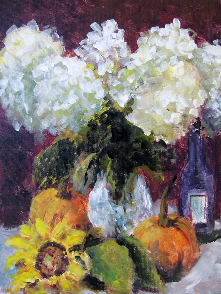 """Still Life with Lilacs"" original fine art by Susan Elizabeth Jones"