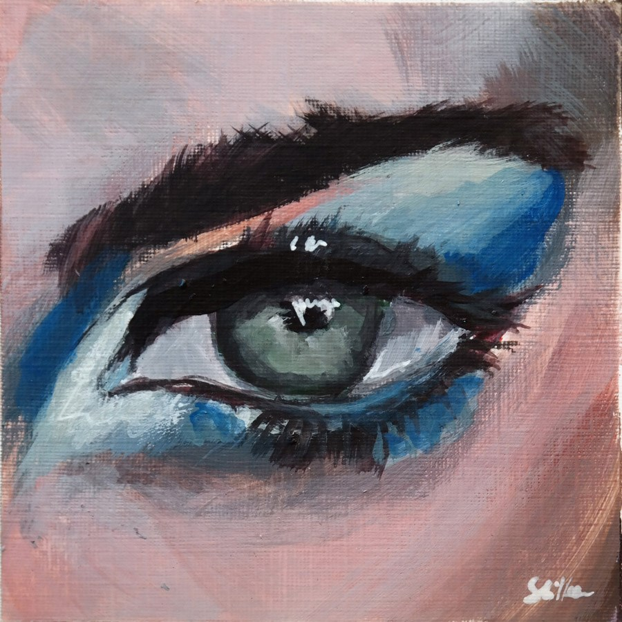 """1818 Eye Sight 1"" original fine art by Dietmar Stiller"