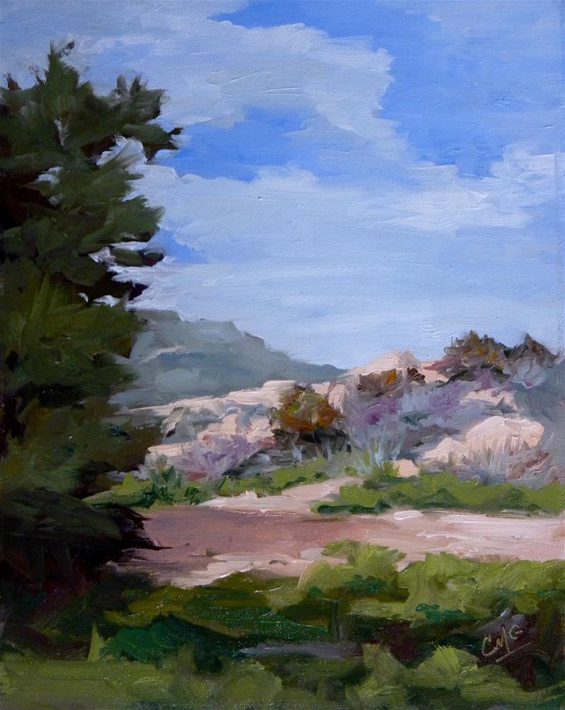 """After the Winter Rain"" original fine art by Cindy Greene"