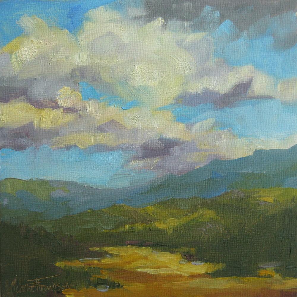 """""""Golden Valley"""" original fine art by Melanie Thompson"""