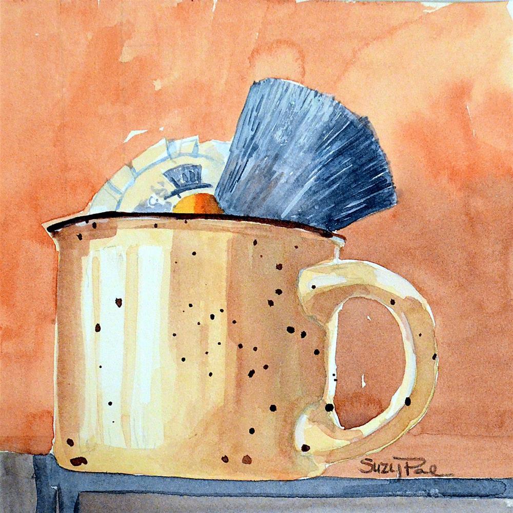 """""""Grandpas's Mug"""" original fine art by Suzy 'Pal' Powell"""