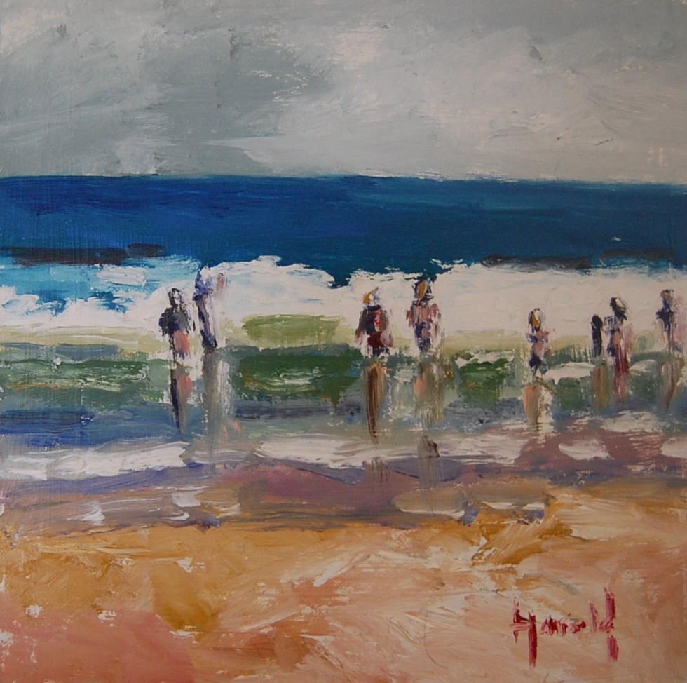 """July"" original fine art by Deborah Harold"