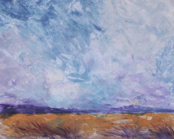 """Prairie Storm"" original fine art by Jana Johnson"